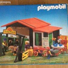 Playmobil: PLAYMOBIL 3775 PONY RANCH CAJA E INSTRUCCIONES. Lote 218278698