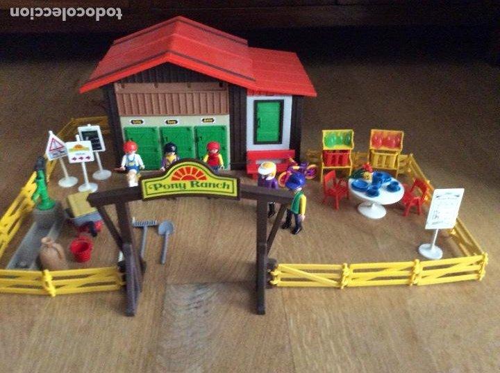 Playmobil: Playmobil 3775 Pony Ranch Caja e instrucciones - Foto 2 - 218278698
