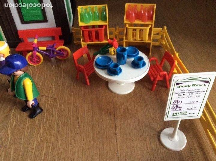 Playmobil: Playmobil 3775 Pony Ranch Caja e instrucciones - Foto 4 - 218278698