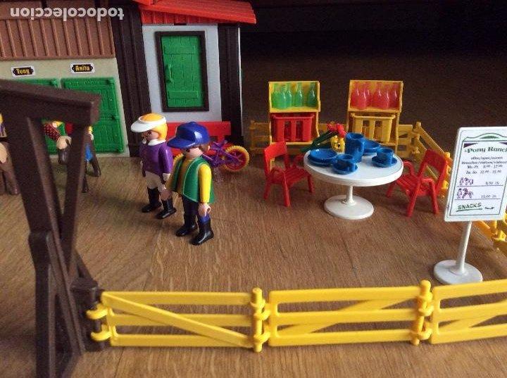 Playmobil: Playmobil 3775 Pony Ranch Caja e instrucciones - Foto 8 - 218278698