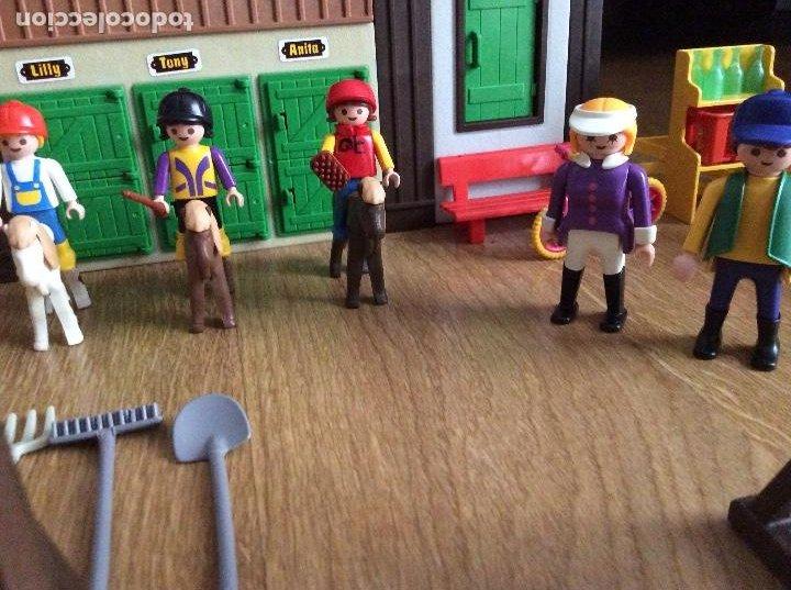 Playmobil: Playmobil 3775 Pony Ranch Caja e instrucciones - Foto 11 - 218278698