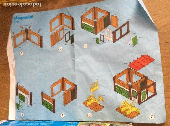 Playmobil: Playmobil 3775 Pony Ranch Caja e instrucciones - Foto 13 - 218278698