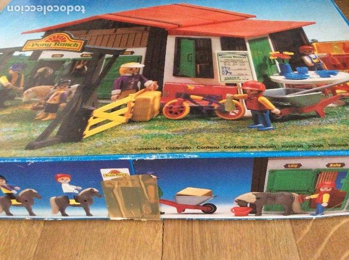 Playmobil: Playmobil 3775 Pony Ranch Caja e instrucciones - Foto 14 - 218278698