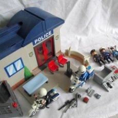 Playmobil: MALETÍN COMISARÍA POLICIA POLICE DE PLAYMOBIL. Lote 218620460