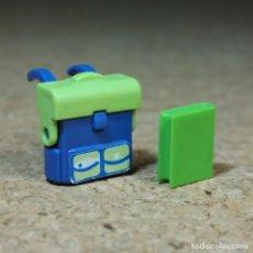 Playmobil: PLAYMOBIL MOCHILA Y LIBRO PARA NIÑO, ESCUELA COLEGIO NIÑOS ACCESORIOS. Lote 218649871