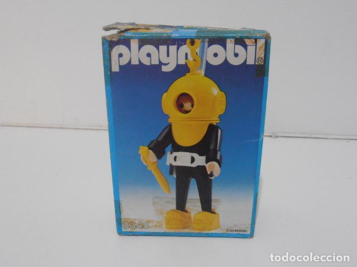 Playmobil: BUZO, PLAYMOBIL, REF 3348, CAJA ORIGINAL, COMPLETO - Foto 4 - 219046100