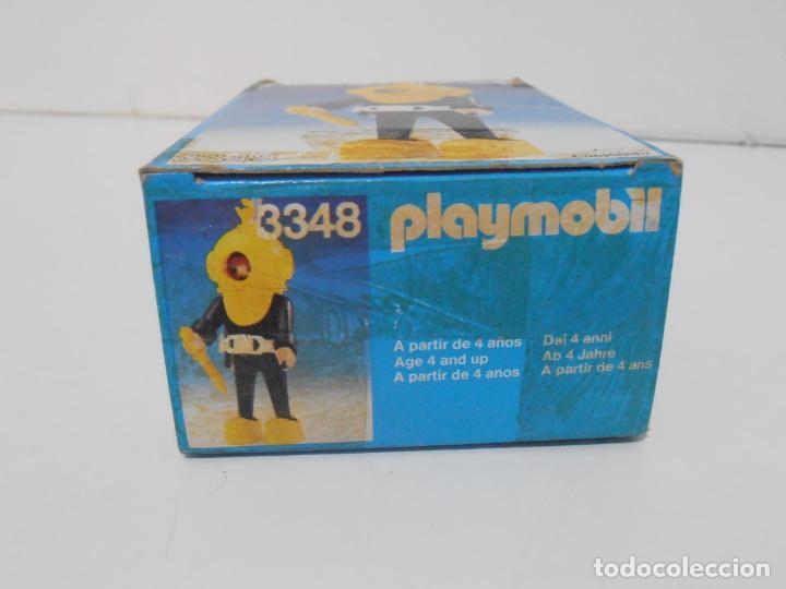 Playmobil: BUZO, PLAYMOBIL, REF 3348, CAJA ORIGINAL, COMPLETO - Foto 8 - 219046100