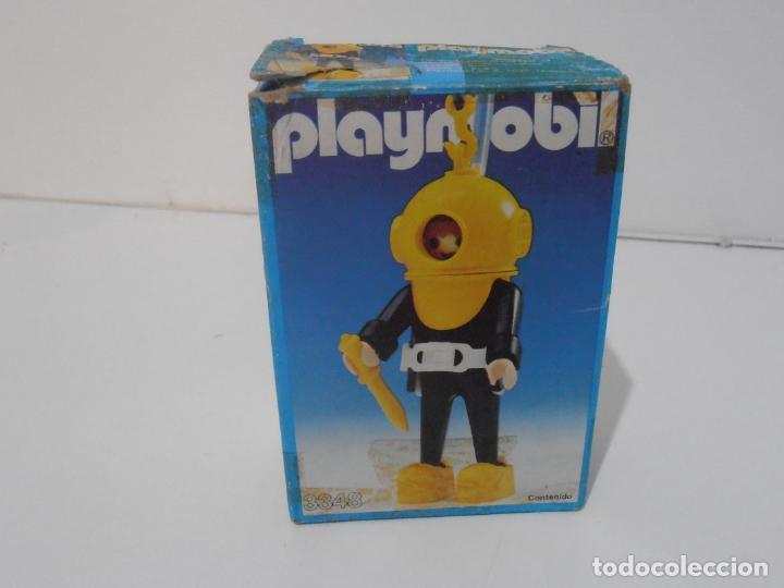 Playmobil: BUZO, PLAYMOBIL, REF 3348, CAJA ORIGINAL, COMPLETO - Foto 9 - 219046100