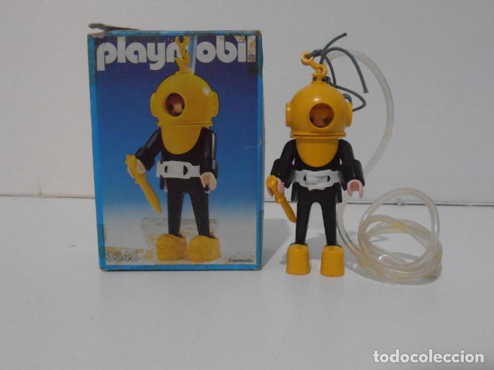 BUZO, PLAYMOBIL, REF 3348, CAJA ORIGINAL, COMPLETO (Juguetes - Playmobil)