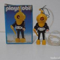 Playmobil: BUZO, PLAYMOBIL, REF 3348, CAJA ORIGINAL, COMPLETO. Lote 219046100