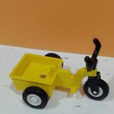 Playmobil: PLAYMOBIL.. TRICICLO AMARILLO.. 1°ÉPOCA.. GEOBRA 1981.. NIÑO.. PARQUE... Lote 219506986