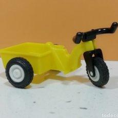 Playmobil: PLAYMOBIL...TRICICLO AMARILLO..1°ÉPOCA.. GEOBRA 1981.. NIÑO.. PARQUE... Lote 219507172