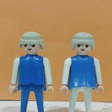 Playmobil: PLAYMOBIL.. REF - 3467.. FIGURAS NIEVE..ESTACION ESQUÍ.. GEOBRA 1974.. (B)... Lote 219560583