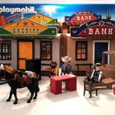Playmobil: PLAYMOBIL 4398 CIUDAD DEL OESTE, FORMA DE MALETÍN BPY. Lote 220688937