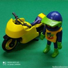 Playmobil: PLAYMOBIL MOTO Y MOTORISTA. Lote 220903900