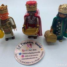 Playmobil: PLAYMOBIL LOTE REYES MAGOS CUSTOM PARA BELÉN. Lote 221010852