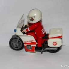 Playmobil: PLAYMOBIL MEDIEVAL MOTO AMBULANCIA CON PILOTO. Lote 221517041
