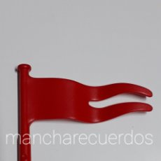 Playmobil: PLAYMOBIL 4276 BANDERA DOBLE ROJA GALERA ROMANA 7512 BARCO SPQR CAMPAMENTO PLAYMOVIL 30267240. Lote 221845158