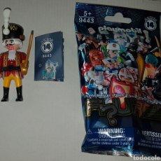 Playmobil: PLAYMOBIL SERIE 14 SOLDADITO DE PLOMO CASCANUECES SOBRE SORPRESA AZUL FIGURA MUÑECO NAVIDAD. Lote 221978835