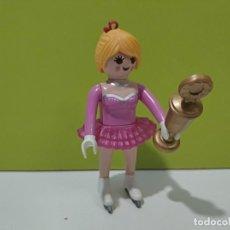 Playmobil: PLAYMOBIL FIGURA MUJER PATINADORA CITY.... Lote 222307088