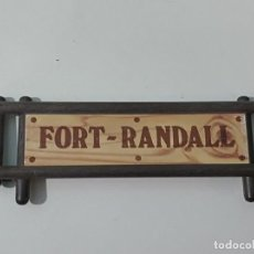 Playmobil: PLAYMOBIL CARTEL FORT RANDALL FUERTE OESTE. Lote 222308391