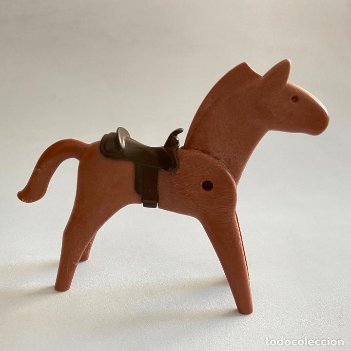 Playmobil: Playmobil Figuras muñecos Soldados de la unión nordistas sudista septimo oeste caballos Geobra 1974 - Foto 5 - 222325086