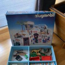 Playmobil: ZOOLÓGICO ZOO PLAYMOBIL 3145 - 1990 - EN BUEN ESTADO CON CAJA E INSTRUCCIONES ORIGINALES. Lote 222436012