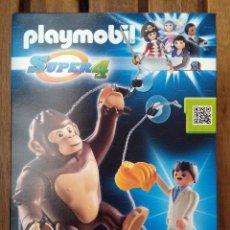 Playmobil: PLAYMOBIL GORILA ANIMAL KING KONG SUPER 4 EN CAJA SIN ABRIR. Lote 222563115