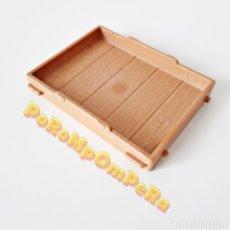 Playmobil: PLAYMOBIL SUELO JAULA PRISIONERO MEDIEVAL 3674 4433 6376 BASE CAJA PUESTO MERCADO VIKINGO CG. Lote 222695582