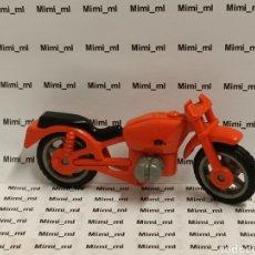Playmobil: PLAYMOBIL MOTO ROJA MOTOCICLETA ANTIGUA. Lote 224340898