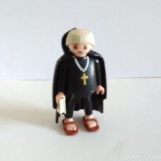 Playmobil: FRAILE PLAYMOBIL CON BIBLIA MONJE SANDALIAS. Lote 224476441