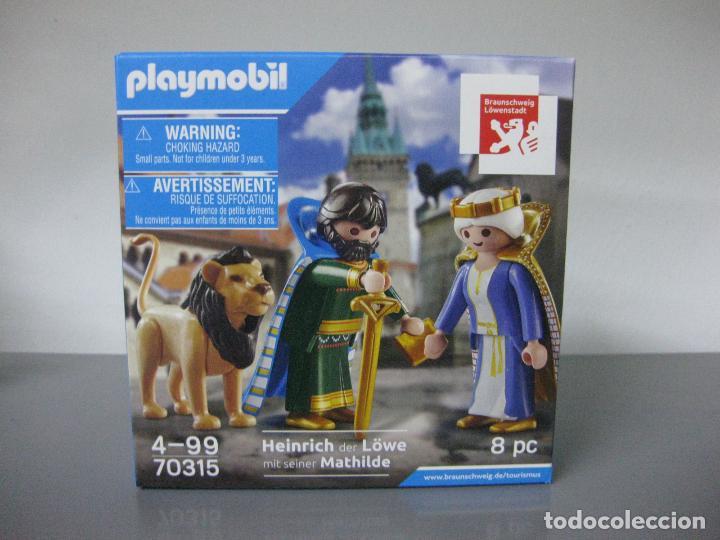PLAYMOBIL EDICION LIMITADA CAJA NUEVA POR ABRIR REF 70315 HEINRICH AND MATHILDE (Juguetes - Playmobil)