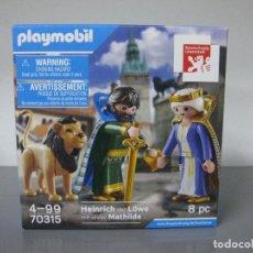 Playmobil: PLAYMOBIL EDICION LIMITADA CAJA NUEVA POR ABRIR REF 70315 HEINRICH AND MATHILDE. Lote 225962040
