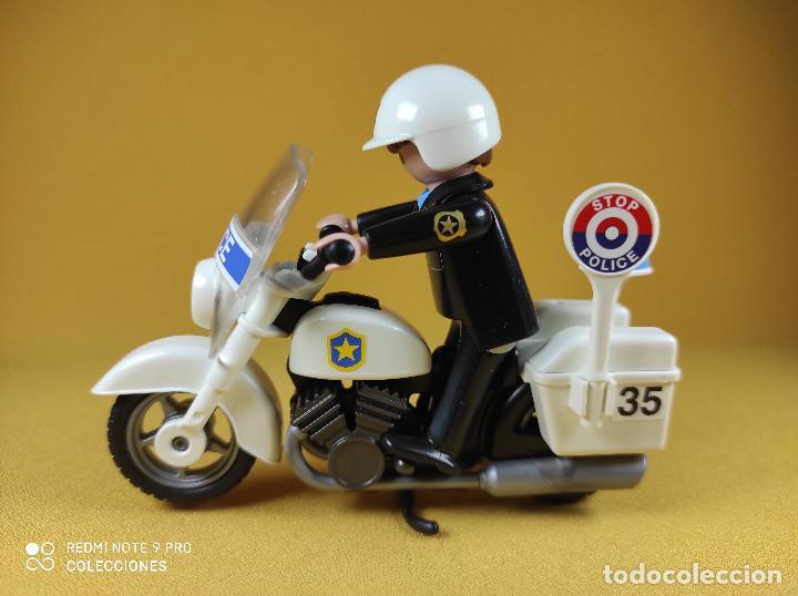 Playmobil: Playmobil Oficial de policia con moto - Foto 2 - 226144880