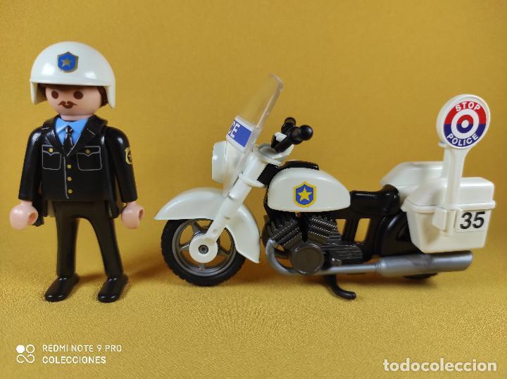 Playmobil: Playmobil Oficial de policia con moto - Foto 4 - 226144880