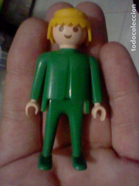 PLAYMOBIL FAMOBIL F SVELA FIGVRA VERDE RVBIO 1974 (Juguetes - Playmobil)
