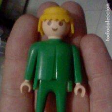 Playmobil: PLAYMOBIL FAMOBIL F SVELA FIGVRA VERDE RVBIO 1974. Lote 226617300