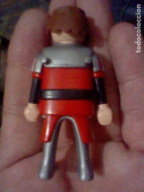 Playmobil: PLAYMOBIL HISTORIA SOLDADO MEDIEVAL BARBA PINTADA GEOBRA 2004 - Foto 2 - 226618320