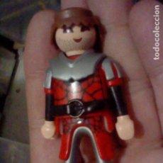 Playmobil: PLAYMOBIL HISTORIA SOLDADO MEDIEVAL BARBA PINTADA GEOBRA 2004. Lote 226618320
