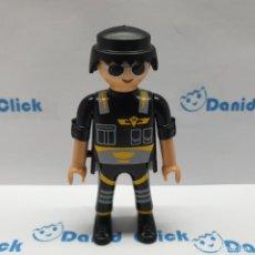 Playmobil: PLAYMOBIL FIGURA CHICO POLICÍA CIUDAD. Lote 227876835