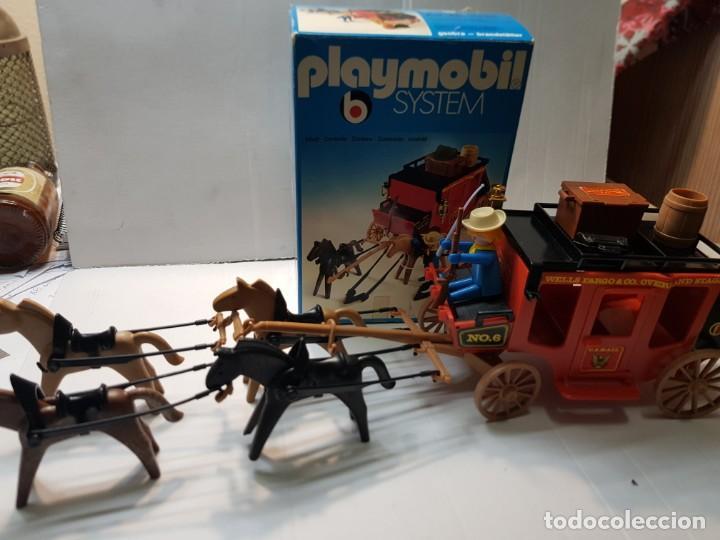 PLAYMOBIL DILIGENCIA OESTE REF.3245 EN CAJA ORIGINAL BUEN ESTADO (Juguetes - Playmobil)