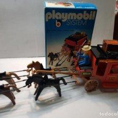 Playmobil: PLAYMOBIL DILIGENCIA OESTE REF.3245 EN CAJA ORIGINAL BUEN ESTADO. Lote 228073970