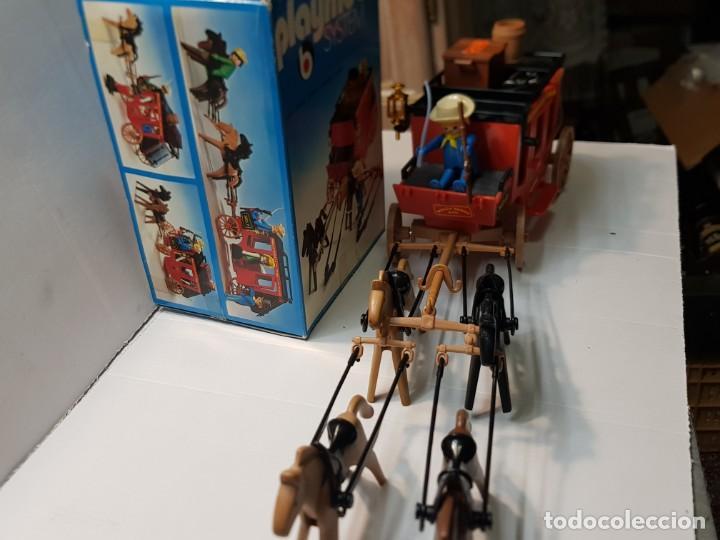 Playmobil: Playmobil Diligencia Oeste ref.3245 en caja original buen estado - Foto 3 - 228073970