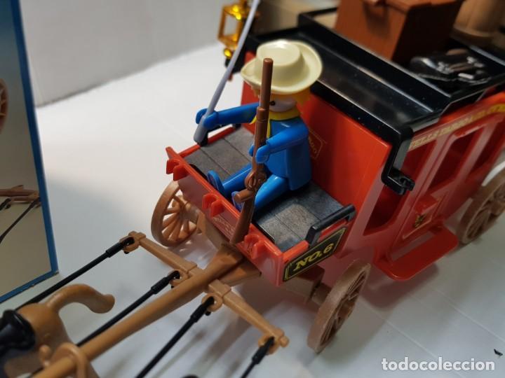 Playmobil: Playmobil Diligencia Oeste ref.3245 en caja original buen estado - Foto 4 - 228073970