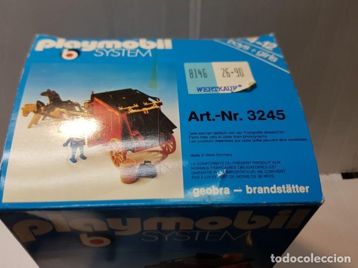 Playmobil: Playmobil Diligencia Oeste ref.3245 en caja original buen estado - Foto 5 - 228073970