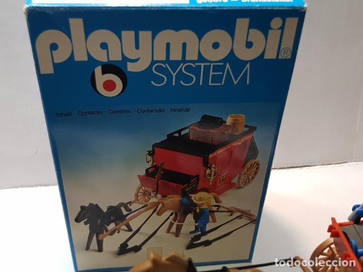 Playmobil: Playmobil Diligencia Oeste ref.3245 en caja original buen estado - Foto 6 - 228073970