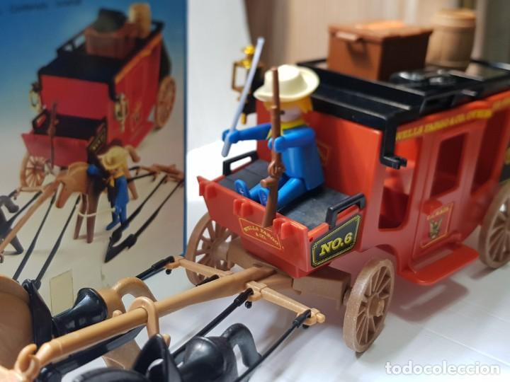 Playmobil: Playmobil Diligencia Oeste ref.3245 en caja original buen estado - Foto 8 - 228073970