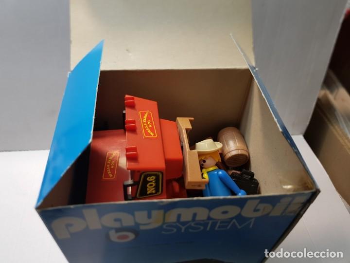 Playmobil: Playmobil Diligencia Oeste ref.3245 en caja original buen estado - Foto 9 - 228073970