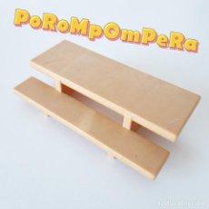 Playmobil: PLAYMOBIL PELDAÑOS ENTRADA CASA CAMPO 3771 ESCALONES PORCHE CABAÑA VACACIONES 1ª ÉPOCA AÑOS 80 CG. Lote 228124675
