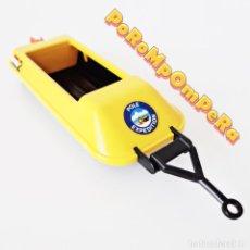 Playmobil: PLAYMOBIL REMOLQUE AMARILLO MOTONIEVE EXPEDICIÓN POLAR 3464 MOTO DE NIEVE CAMPAMENTO ÁRTICO AÑOS 80. Lote 229804475